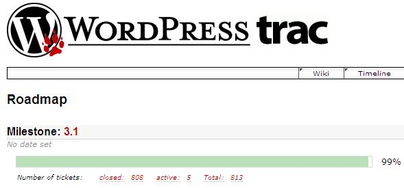 99 %-os a WordPress 3.1