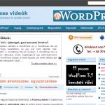 Blog főoldal - kék