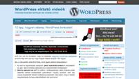 WordPress kinézet